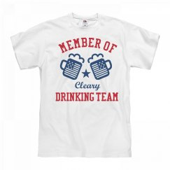 July 4th Cleary Drinking Team