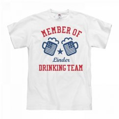 July 4th Linder Drinking Team