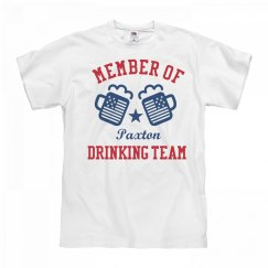 July 4th Paxton Drinking Team