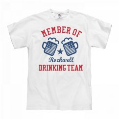 July 4th Rockwell Drinking Team