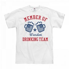 July 4th Warden Drinking Team