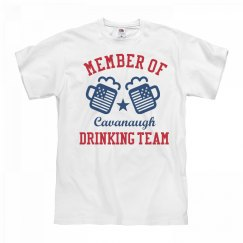 July 4th Cavanaugh Drinking Team
