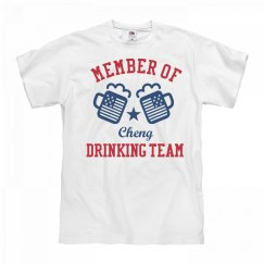 July 4th Cheng Drinking Team