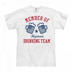 July 4th Hyman Drinking Team