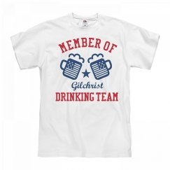 July 4th Gilchrist Drinking Team
