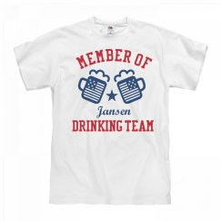 July 4th Jansen Drinking Team