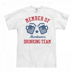 July 4th Montanez Drinking Team