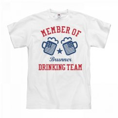 July 4th Brunner Drinking Team