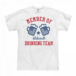 July 4th Adcock Drinking Team