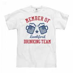 July 4th Lankford Drinking Team