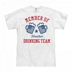 July 4th Streeter Drinking Team