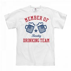 July 4th Beaty Drinking Team