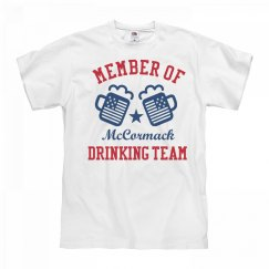 July 4th McCormack Drinking Team