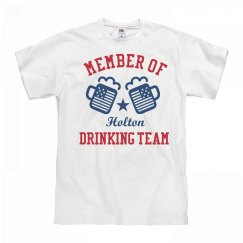 July 4th Holton Drinking Team