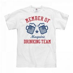 July 4th Maguire Drinking Team