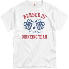 July 4th Koehler Drinking Team