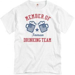 July 4th Inman Drinking Team