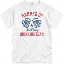July 4th McElroy Drinking Team