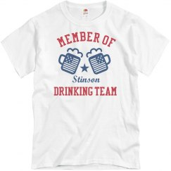 July 4th Stinson Drinking Team