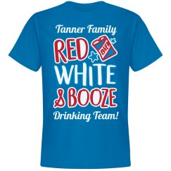 Tanner Family Red White & Booze