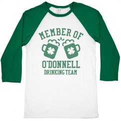 O'DONNELL Drinking Team Member