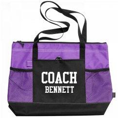 Coach Bennett Sports Bag