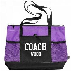 Coach Wood Sports Bag