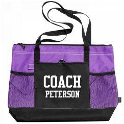 Coach Peterson Sports Bag