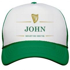 John Might Be Drunk St Pat's