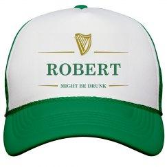 Robert Might Be Drunk St Pat's