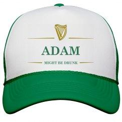 Adam Might Be Drunk St Pat's