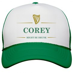 Corey Might Be Drunk St Pat's