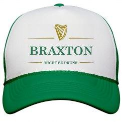 Braxton Might Be Drunk St Pat's