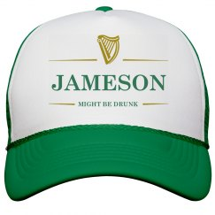 Jameson Might Be Drunk St Pat's