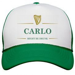 Carlo Might Be Drunk St Pat's