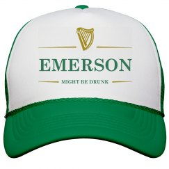 Emerson Might Be Drunk St Pat's