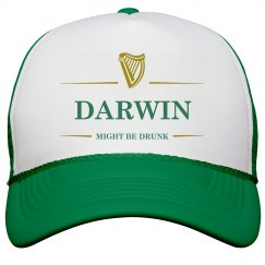 Darwin Might Be Drunk St Pat's