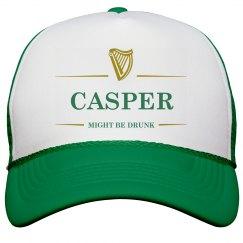 Casper Might Be Drunk St Pat's