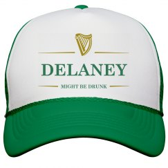 Delaney Might Be Drunk St Pat's
