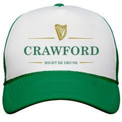 Crawford Might Be Drunk St Pat's