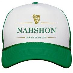 Nahshon Might Be Drunk St Pat's