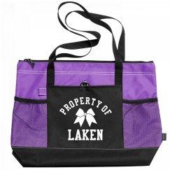 Property Of Laken Cheerleader