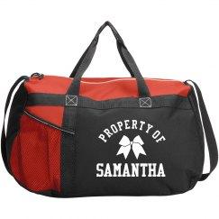 Cheer Squad Property Of Samantha