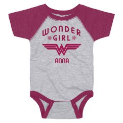 Wonder Girl Anna Logo