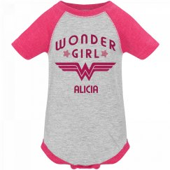 Wonder Girl Alicia Logo