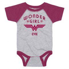 Wonder Girl Evie Logo