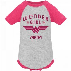 Wonder Girl Saanvi Logo