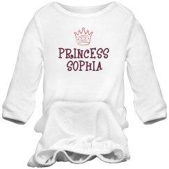 Princess Sophia Sleep Onesie