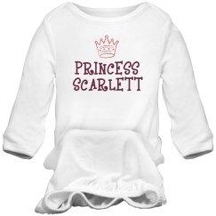Princess Scarlett Sleep Onesie