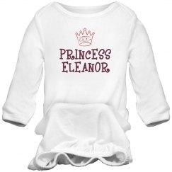Princess Eleanor Sleep Onesie